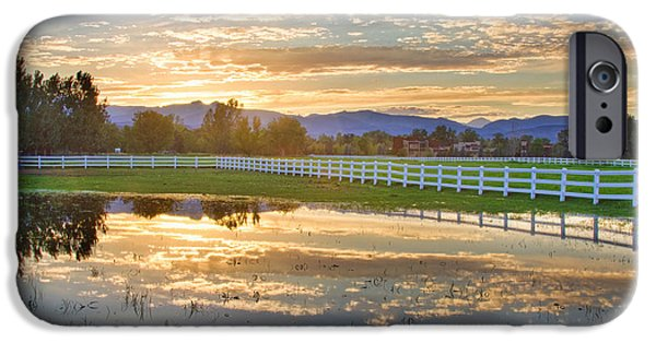 Epic iPhone Cases - Country Sunset Reflection iPhone Case by James BO  Insogna