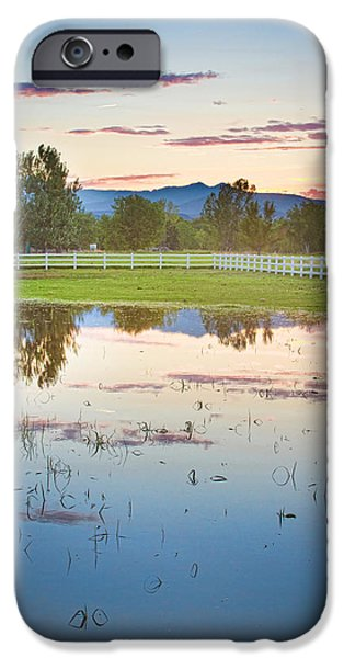 Epic iPhone Cases - Country Sunset Reflections iPhone Case by James BO  Insogna