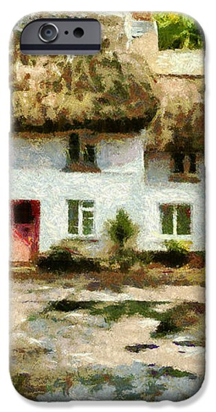 Countryside Cottages iPhone Case by Jay Lethbridge