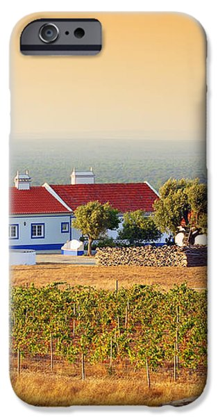 Countryside House iPhone Case by Carlos Caetano