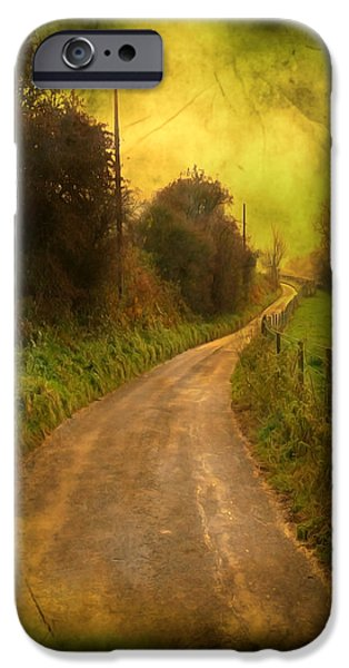 Countryside Road iPhone Case by Svetlana Sewell
