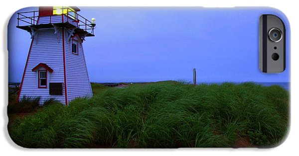 Lighthouse iPhone Cases - Cove Head Lighthouse iPhone Case by Rick Berk