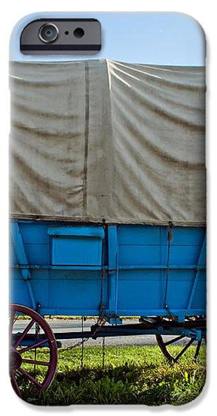 Covered Wagon iPhone Case by Steve Harrington