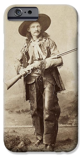 1880s iPhone Cases - COWBOY, 1880s iPhone Case by Granger