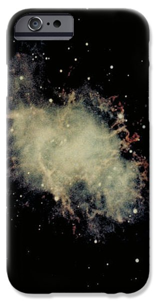 Crab Nebula iPhone Case by Hale Observatories