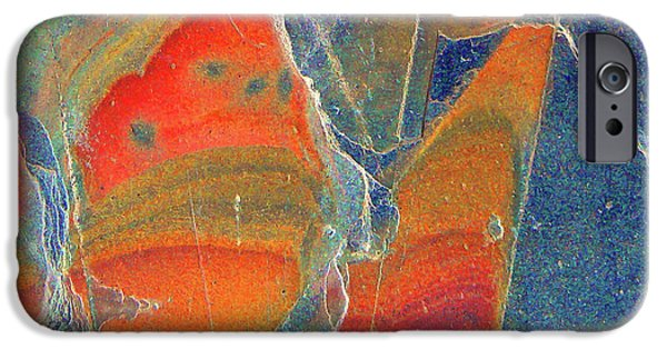 Illusional iPhone Cases - Cracked iPhone Case by Pamela Patch