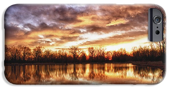 Epic iPhone Cases - Crane Hollow Sunrise Boulder County Colorado HDR iPhone Case by James BO  Insogna