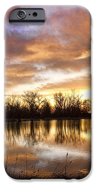Crane Hollow Sunrise Boulder County Colorado iPhone Case by James BO  Insogna