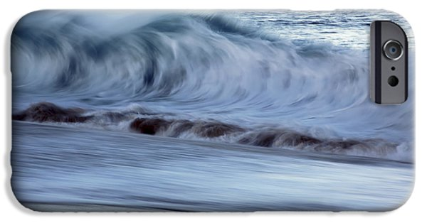 Break Fast iPhone Cases - Crashing Morning Wave iPhone Case by Vince Cavataio - Printscapes