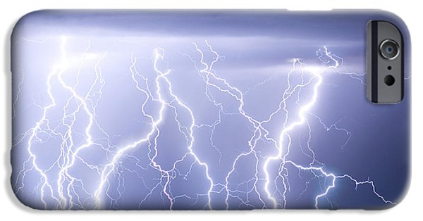 Striking Photography iPhone Cases - Crazy Skies iPhone Case by James BO  Insogna