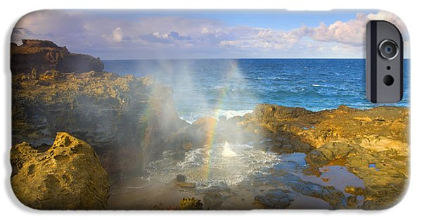 Miracle Photographs iPhone Cases - Creating Miracles iPhone Case by Mike  Dawson