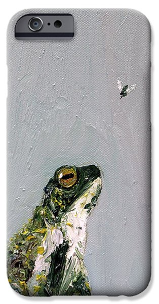 Flying Frog iPhone Cases - Creation Rocks And Tremble Top And Base iPhone Case by Fabrizio Cassetta