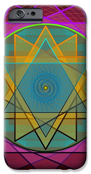 Creative Power 2012 iPhone Case by Kathryn Strick