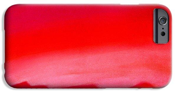 Evening Pastels iPhone Cases - Crimson Night iPhone Case by Hakon Soreide
