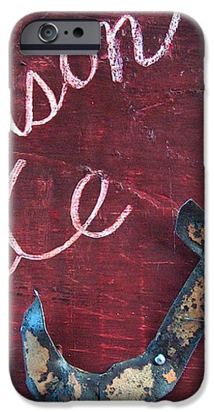 Crimson Tide iPhone Case by Racquel Morgan