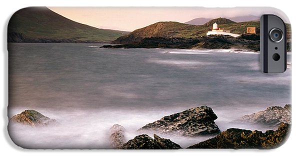 Cummins iPhone Cases - Cromwell Point Lighthouse, Valentia iPhone Case by Richard Cummins