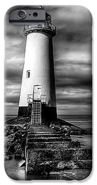 Crooked Lighthouse iPhone Case by Adrian Evans