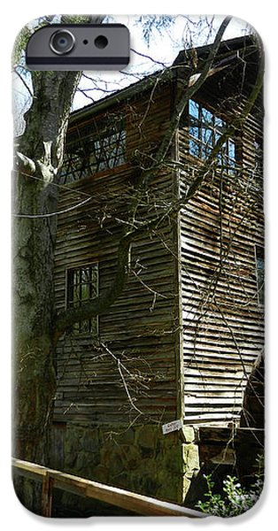 Cross Eyed Cricket Grist Mill iPhone Case by Paul Mashburn