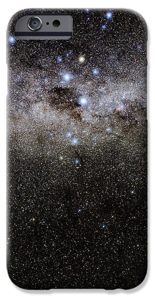 Crux And The Southern Celestial Pole iPhone Case by Eckhard Slawik
