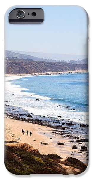 Crystal Cove Orange County California iPhone Case by Paul Velgos