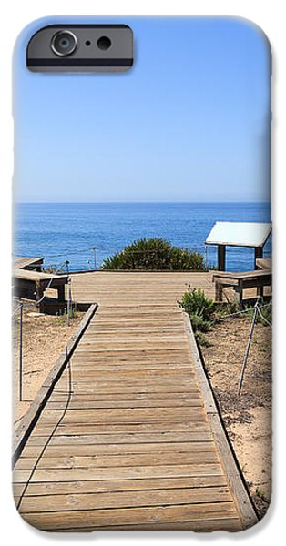 Crystal Cove State Park Ocean Overlook iPhone Case by Paul Velgos