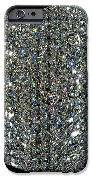 Refracted Light iPhone Cases - Crystal Ice iPhone Case by Will Borden