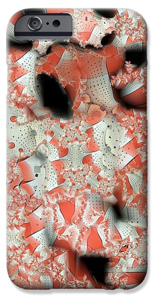 Cubicle iPhone Cases - Cubicle Walls iPhone Case by Ron Bissett