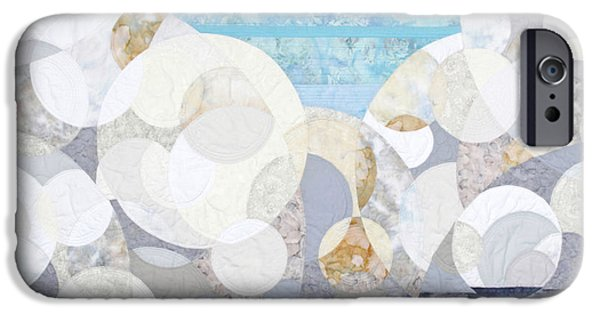 Clouds Tapestries - Textiles iPhone Cases - Cumulonimbus iPhone Case by Linda Beach