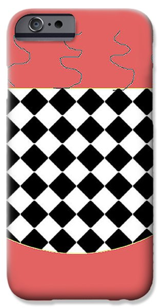 Cup O Joe iPhone Case by Jeannie Atwater Jordan Allen