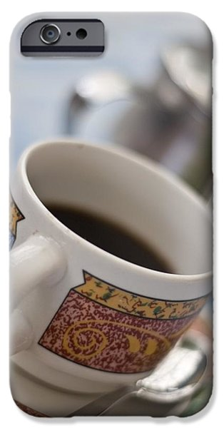 Cup Of Coffee iPhone Case by David DuChemin