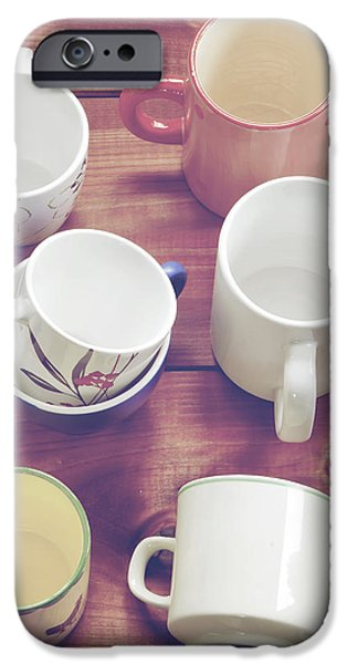 cups iPhone Case by Joana Kruse