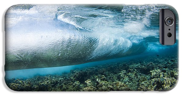 Unique View iPhone Cases - Curl of Wave from Underwater iPhone Case by Dave Fleetham - Printscapes
