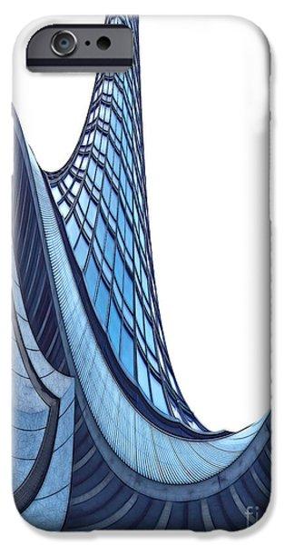 Curves - ArchiFou 42 iPhone Case by Aimelle