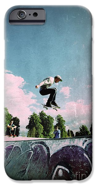 Action Shot iPhone Cases - Cut Above The Rest iPhone Case by Yhun Suarez