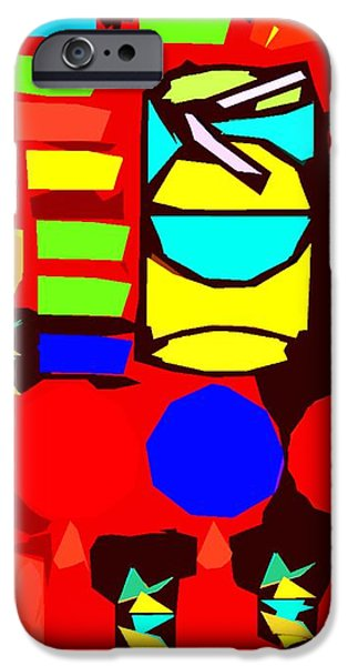 CUTOUT 11 iPhone Case by Patrick J Murphy