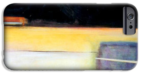 Abstract Expressionism iPhone Cases - D-bird Lightening Bug iPhone Case by Marlene Burns