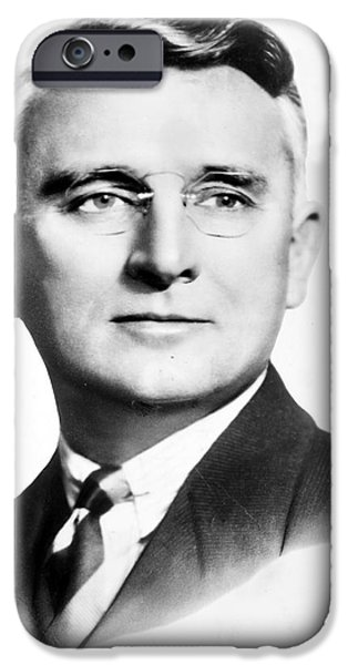 1940s Portraits iPhone Cases - Dale Carnegie (1888-1955) iPhone Case by Granger