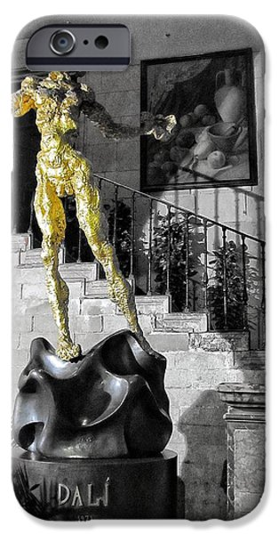 Exhibition iPhone Cases - Dali iPhone Case by Marianna Mills