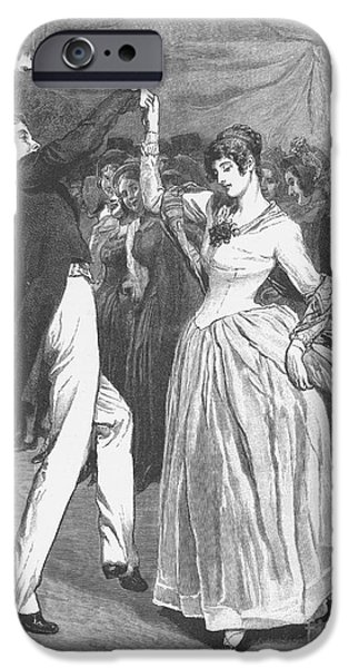 DANCE, 19TH CENTURY iPhone Case by Granger