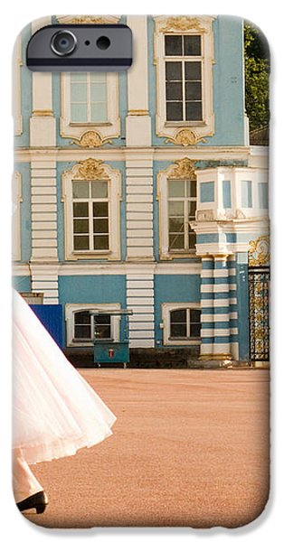 Dance at Saint Catherine Palace iPhone Case by David Smith
