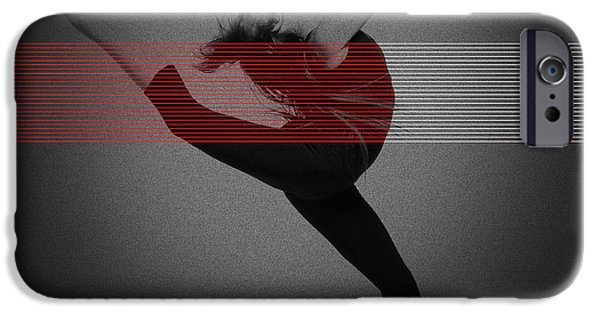 Seductive iPhone Cases - Dancer iPhone Case by Naxart Studio