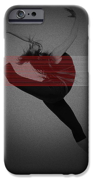 Dancer iPhone Case by Naxart Studio