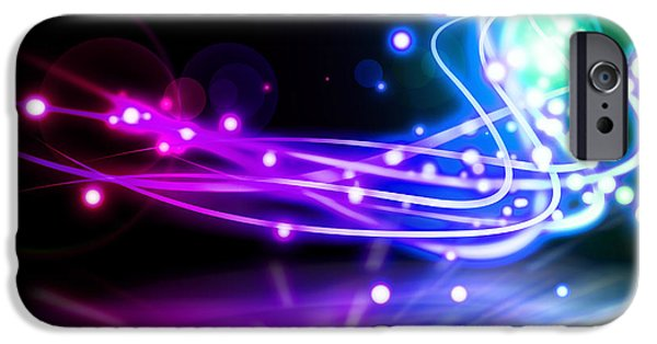 Copy iPhone Cases - Dancing Lights iPhone Case by Setsiri Silapasuwanchai