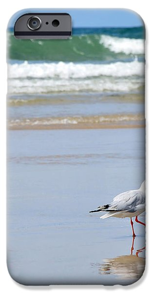 Dancing on the Beach iPhone Case by Kaye Menner