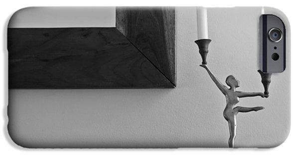 Stainless Steel Frame iPhone Cases - Dancing on the Ledge iPhone Case by Kantilal Patel