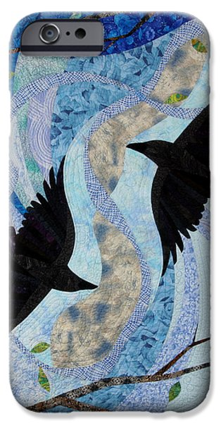 Dancing With the Chinook iPhone Case by Linda Beach