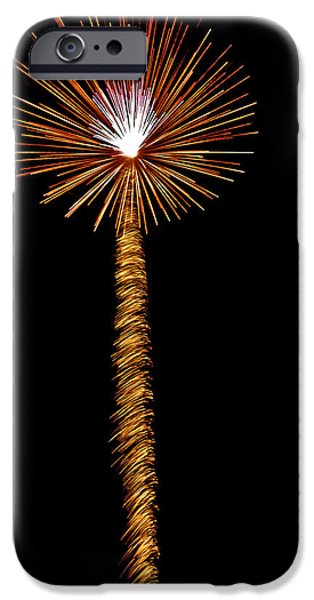 July 4th Digital Art iPhone Cases - Dandelion iPhone Case by Phill  Doherty