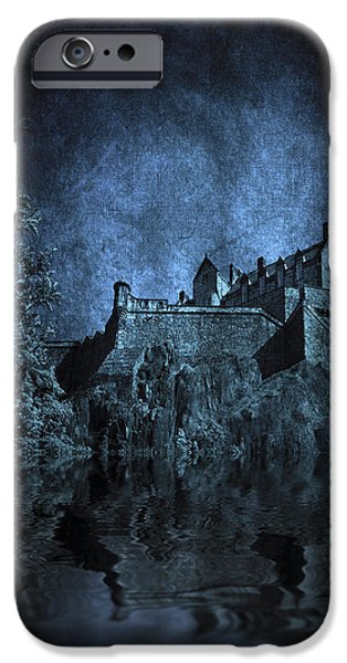 Dark Castle iPhone Case by Svetlana Sewell