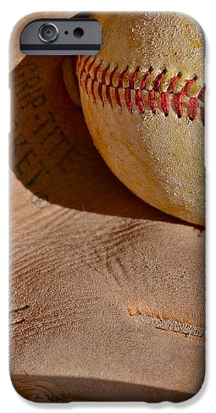 Dave Cash Mitt iPhone Case by Bill Owen