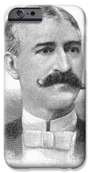 David iPhone Cases - DAVID HENNESSY (d. 1890) iPhone Case by Granger